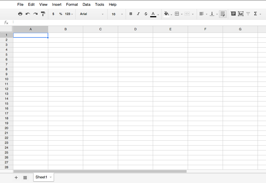 Google Spreadsheet For Project Management – A Tutorial
