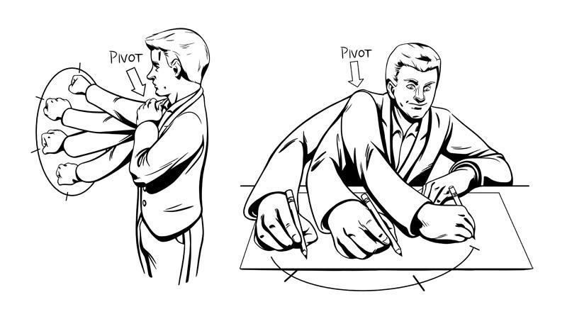 Drawing Lines Exercises : Warm up exercises makingcomics