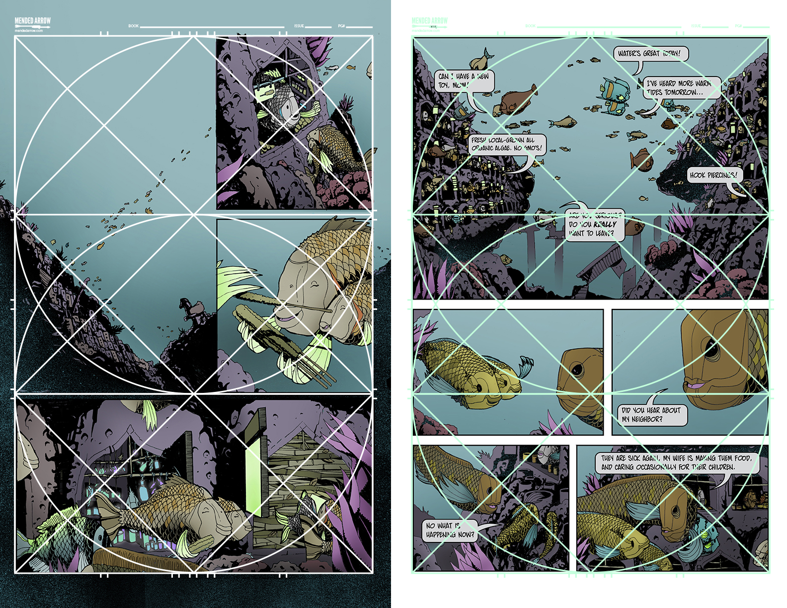 Panel Layout: The Golden Ratio - MakingComics.com