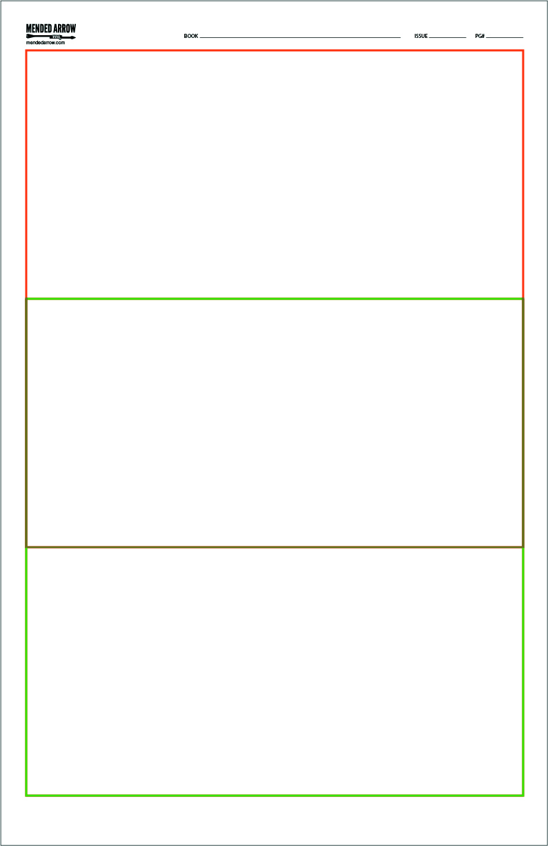 download comic strip template pages for creative