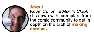 Talking Comics with Kevin Cullen