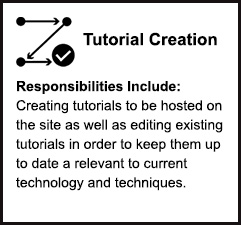 Tutorial Creation