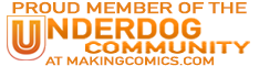 Proud member of the underdog community half banner